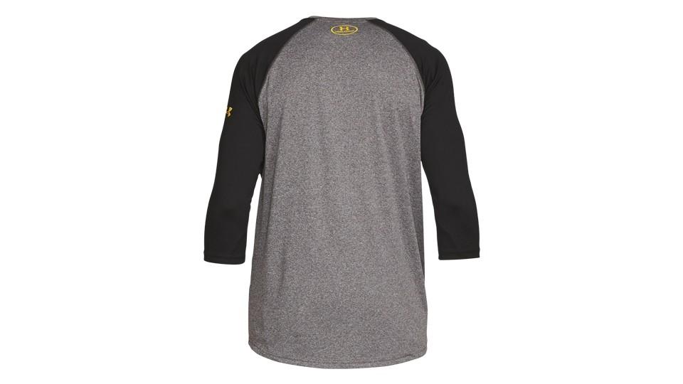 UA - TRX - 3/4 Tech Shirt grau Herren L