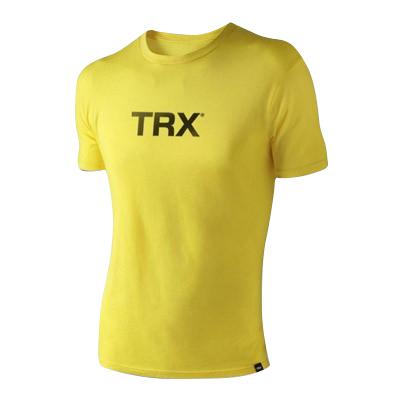 T-Shirt TRX Schwarz auf Gelb Männer Small